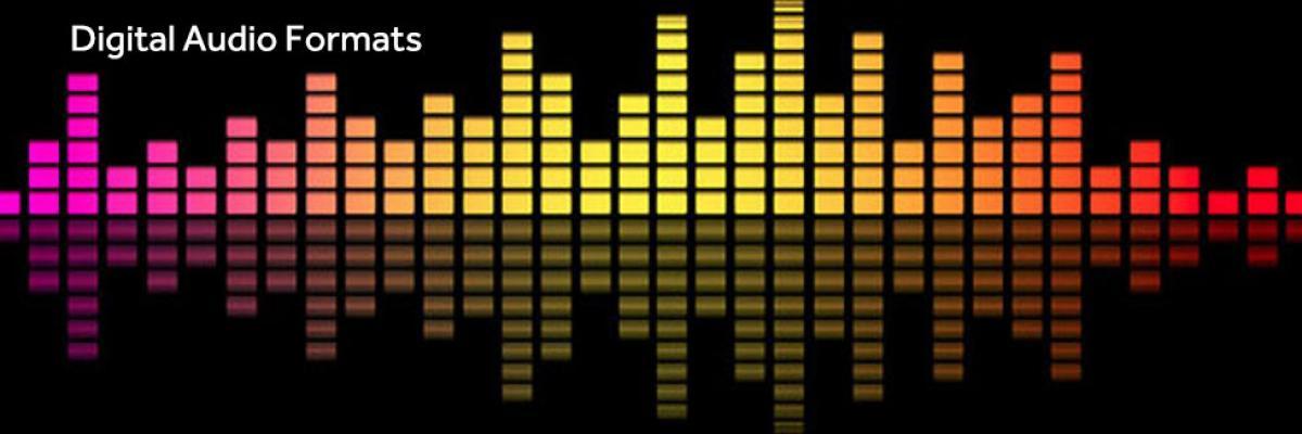 Digital audio formats