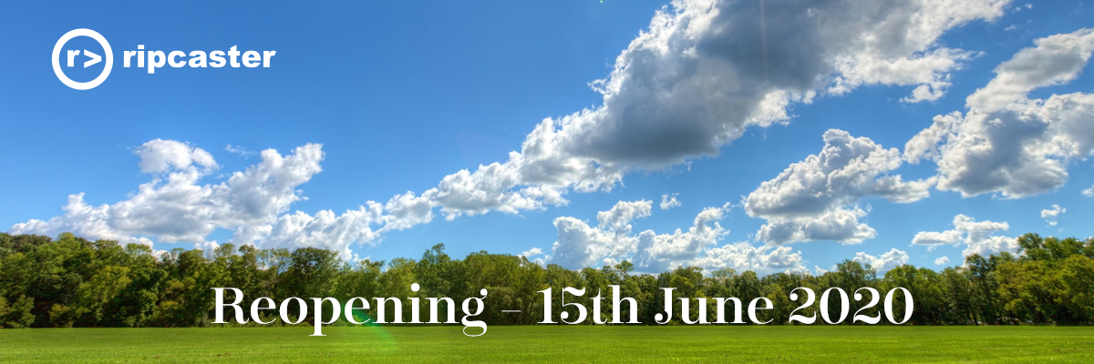 We are reopening our showroom from Monday 15th of June.