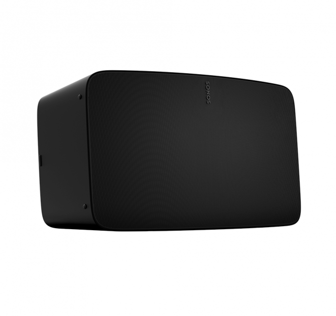 SONOS Five front and side view in black