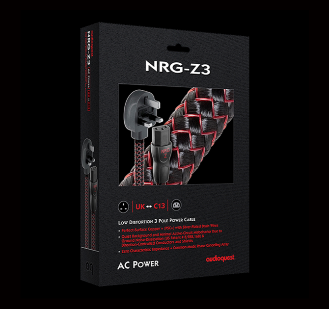 AudioQuest NRG Z3 - Mains Cable ABL box