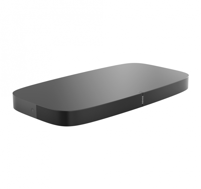 SONOS PLAYBASE angled view.