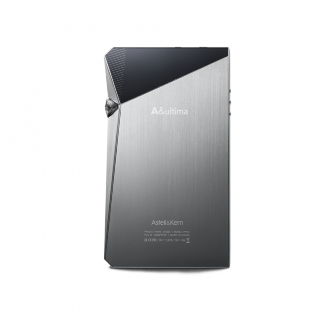 Astell & Kern A&Ultima SP2000 Music Player Silver rear view