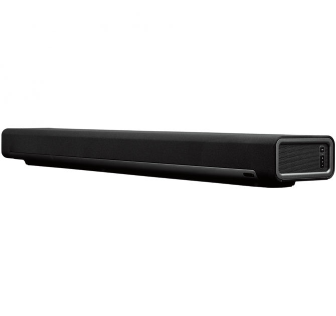 SONOS Playbar front and side view