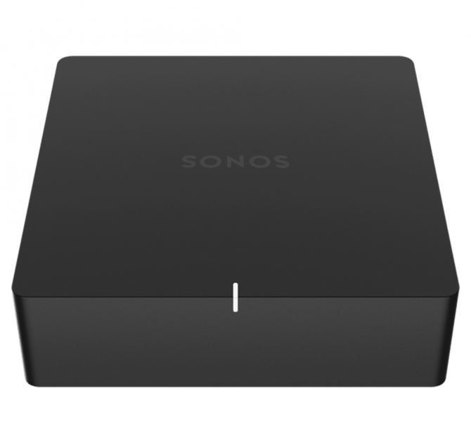 SONOS PORT front and top view.