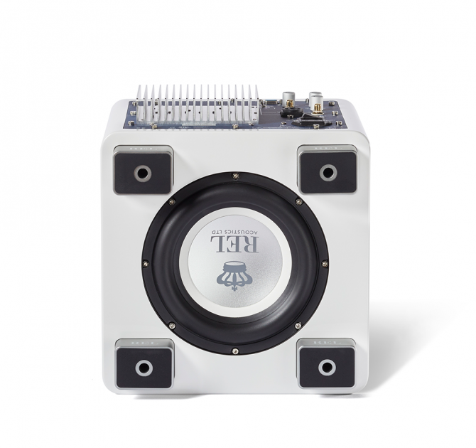 REL T/5x Sub-woofer in white