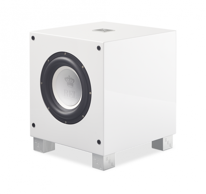 REL T/7i Subwoofer in white