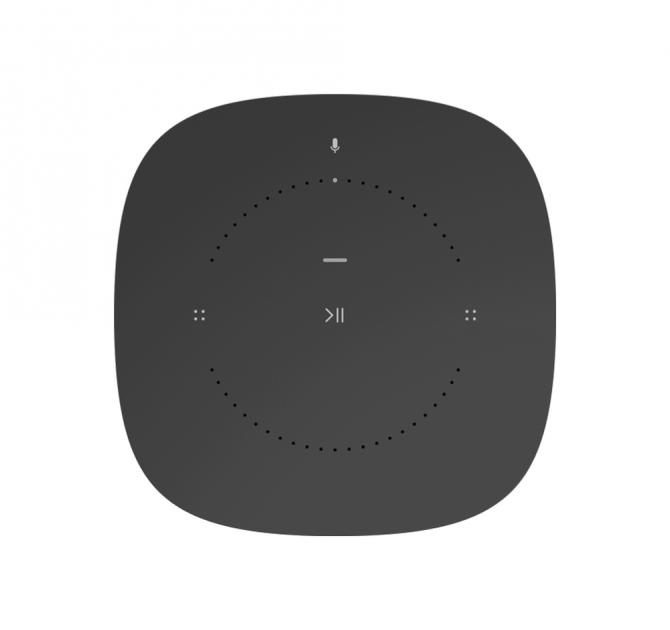 SONOS One Black top view