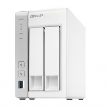 QNAP TS-231P Two Bay Network Attached Storage (NAS)