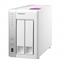 QNAP TS-231P2 Two Bay Network Attached Storage (NAS)