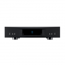 Linn Akurate DSM black, front view.
