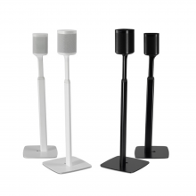 Flexson Adjustable Floor Stand One/Play1 x2 black and white version
