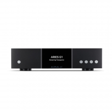Auralic Aries G1 Wireless Streaming Bridge front view.