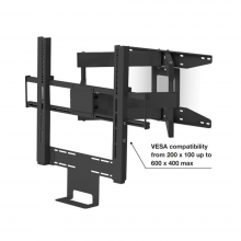 Flexson 65in Cantilever Mount Beam/Playbar Black x1