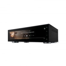 HiFi Rose RS150 network streamer, DAC and pre-amplifier in black