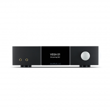 AURALiC Vega G1 Streaming DAC front view.