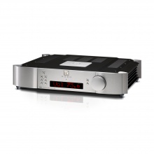 Moon 600i V2 Integrated Amplifier in silver.