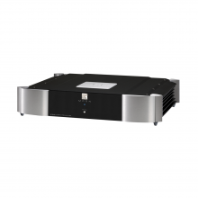 Moon 610LP Phono Preamplifier in silver and black.