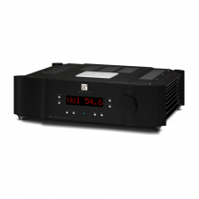 Moon 700i V2 Integrated Amplifier in black.