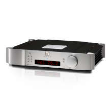 Moon 740P Single Chassis Reference Balanced Preamplifier in silver.