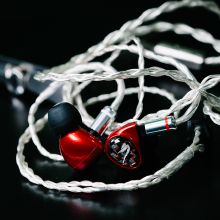 Astell & Kern Billie Jean JH Audio Earphones in red