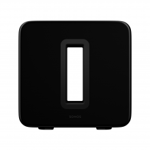 SONOS Sub in black front view