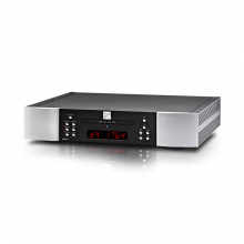 Moon 260D CD transport with DAC in black and silver.