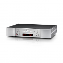 Moon 260D CD transport with DAC in silver.
