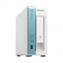 QNAP TS-131K front and side view