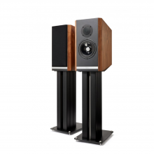 Kudos Titan 505 speakers with stand in Walnut
